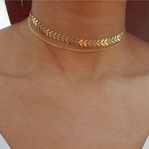 Jewelry - Gold Boho Goddess Choker Necklace